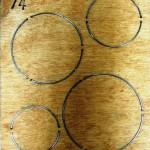 Circles - Penny Rug